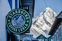 Hochlandcafé in Lukla