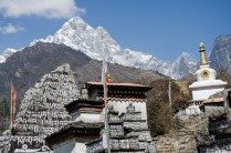 Nahe an Tibet - Buddhistische Wegbegleiter allerorten