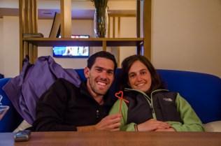 Unsere israelischen Reisegefährten Aya und Idan