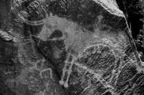 Über 5000 Felsbilder, die frühesten aus der Bronzezeit. Tamgaly