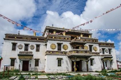 Das erste buddhistische Kloster der Mongolei