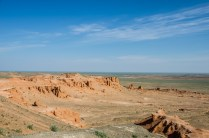 Die Flaming Cliffs sind das Monument Valley der Mongolei