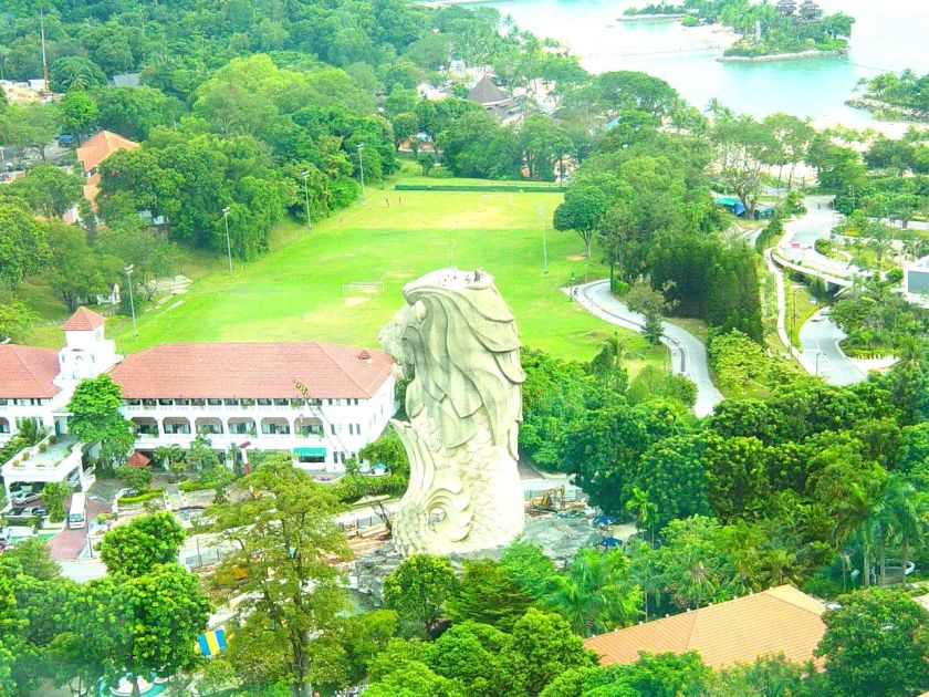 A View of Sentosa