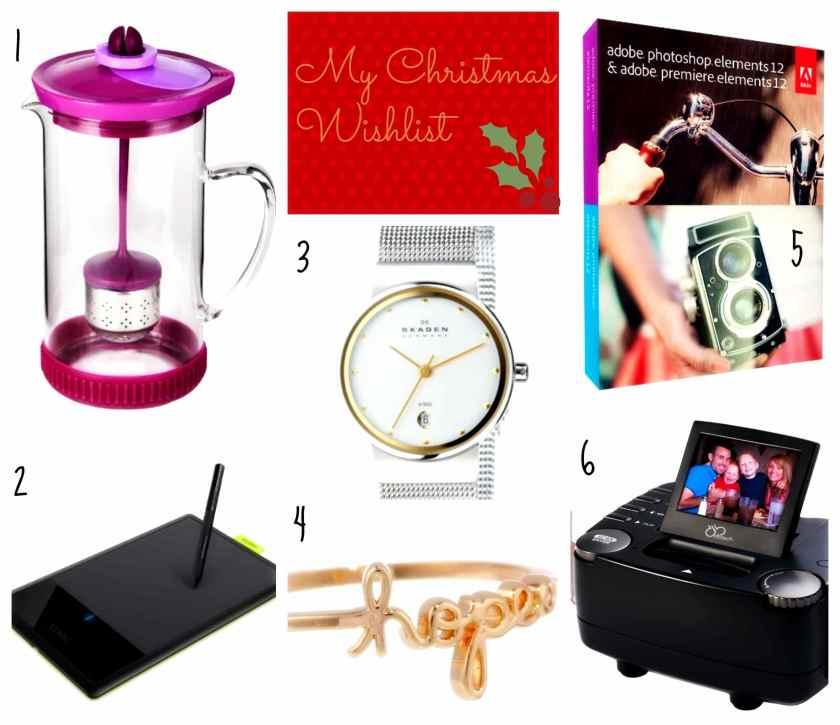2013 Christmas Wishlist
