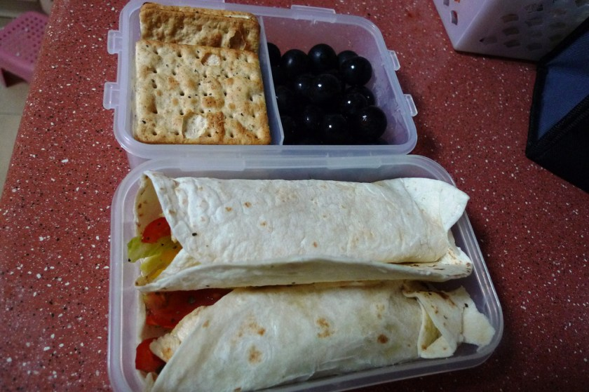 Project Lunchbox Packed