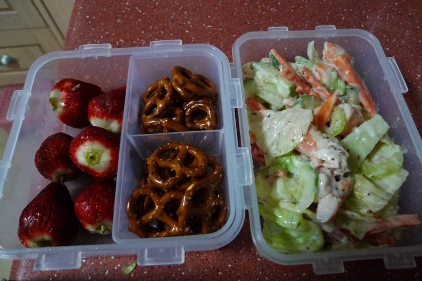 Project Lunchbox Shrimp Salad