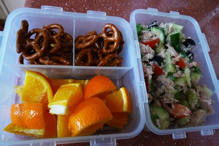 Project Lunchbox Tuna Greek Salad