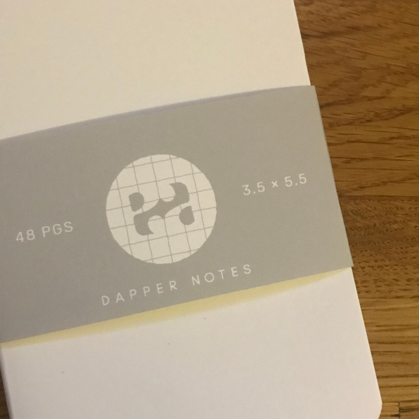 Dapper Notes - A New Page