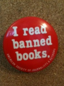 Banned Books Week pin
