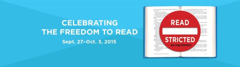 Banned Books Week 2015 (September 27–October 3)