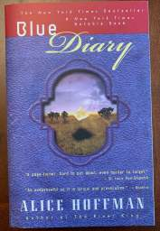 cover: Blue Diary by Alice Hoffman