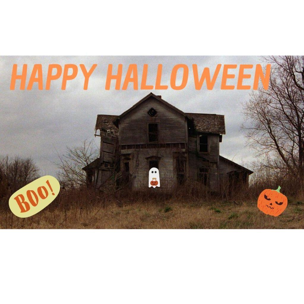 Spooky house: Happy Halloween