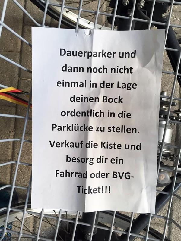 Falschparker