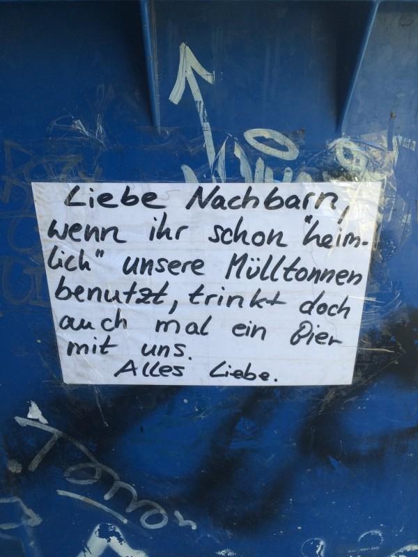 Berliner Nachbarschaften  Immer wieder fr berraschungen