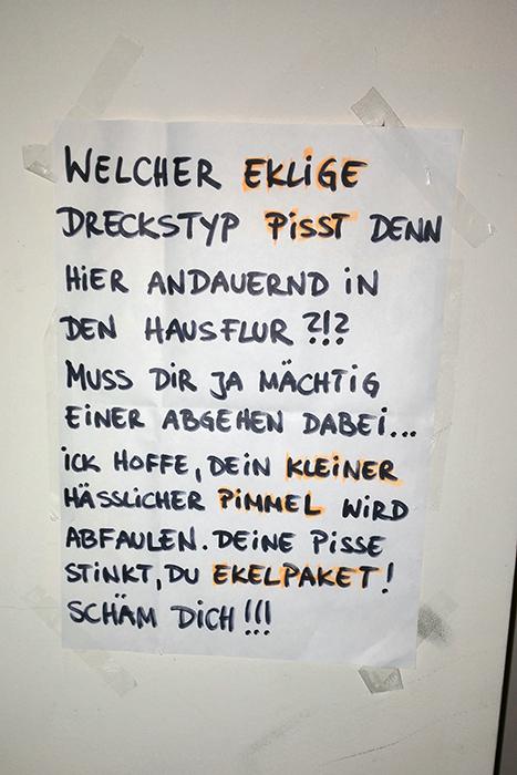 Kleiner hsslicher Pimmel  NOTES OF BERLIN