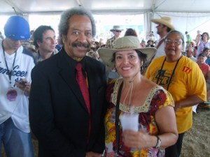new orleans music legend allen toussaint at jazz fest
