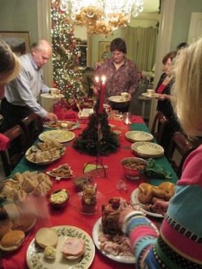 The Bienvenu family celebrates Reveillon Christmas Eve.