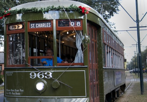 holiday streetcar new orleans