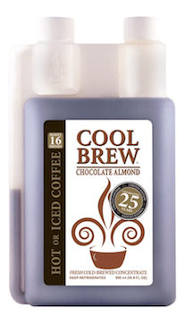 New Orleans Coffee Company CoolBrew celebrates 25 years with chocolate almond flavor.