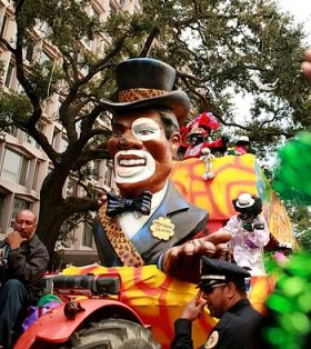 New Orleans Mardi Gras 2007: Zulu Parade on St...