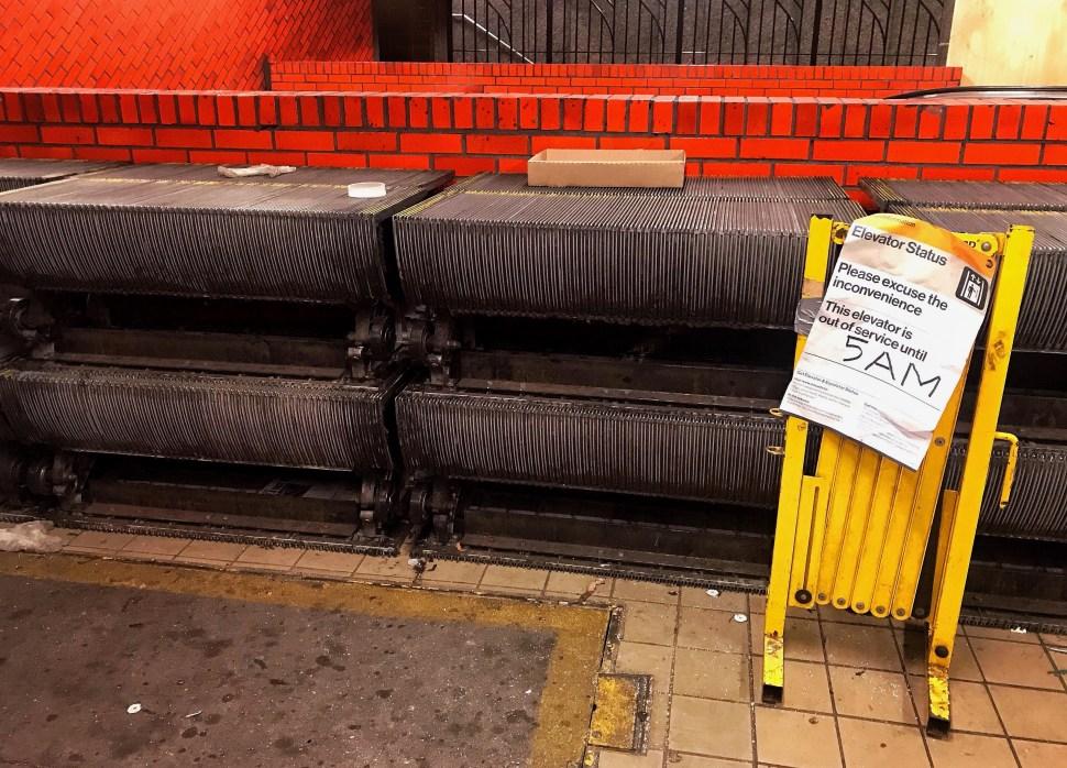 Lexington Av/59th St Subway Station. East side mezzanine. Photo by Rick Stachura. August 15, 2019.