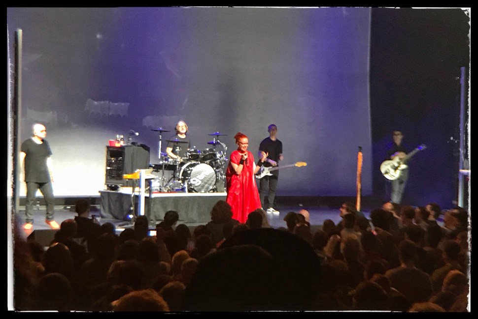 Garbage at Kings Theatre. Photo by Rick Stachura. October 27, 2018.