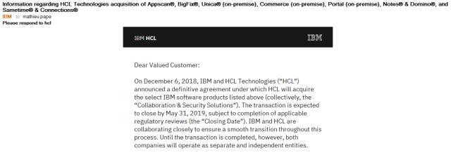 2019-05-02 20_52_37-Information regarding HCL Technologies acquisition of Appscan®, BigFix®, Unica®