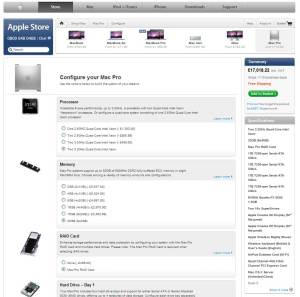 Mac Pro with all the options including two 3.2GHz Quad-Core Intel Xeon
