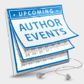 List your author events