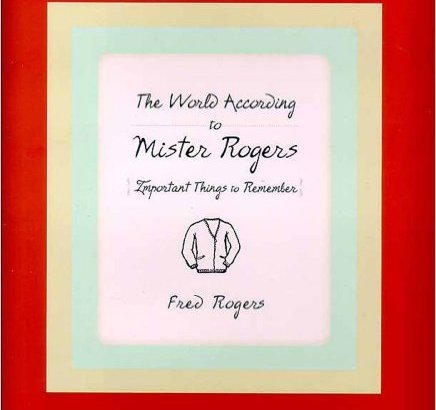 Fred Rogers recommended reading