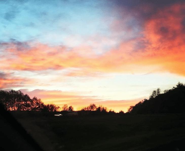 I-5 Sunset