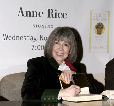 Anne Rice writing advice