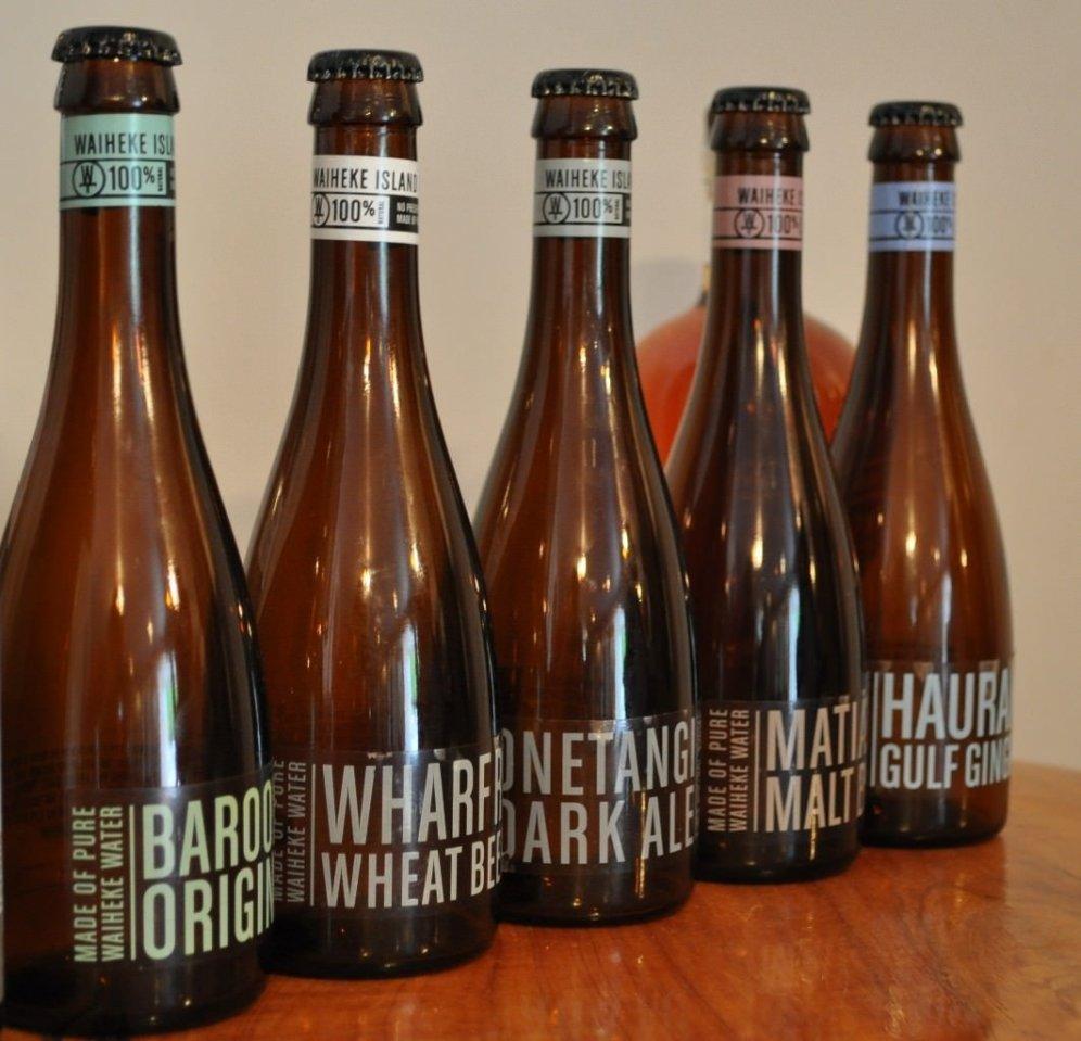 Wild on Waiheke micro beers