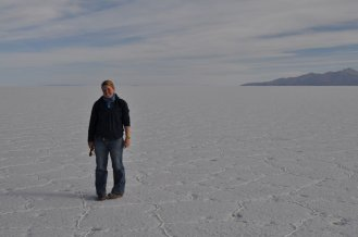 Eva on the Salt flats