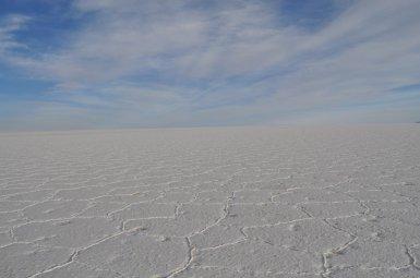 Salt and sky