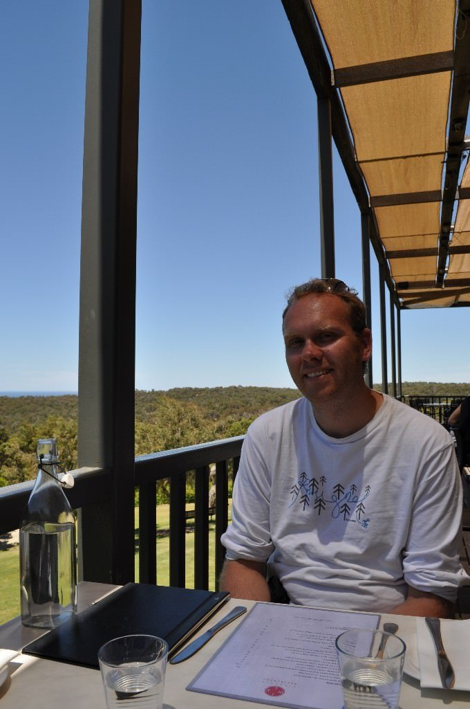 Lunch at Wise winery in Eagle Bay