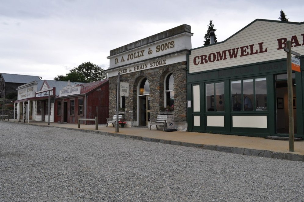 Cromwell old town, born out of the gold rush