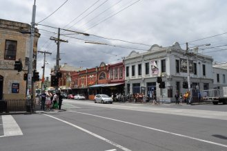 Old buildings in Fitzroy district