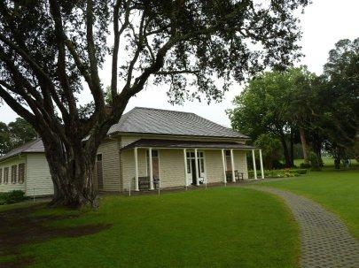 Waitangi Treaty House grounds and museum
