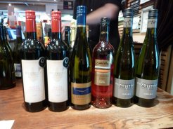 Wines we are bringing home