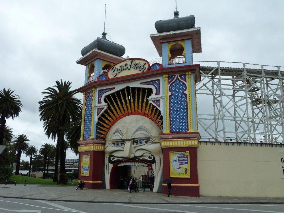 Luna park in St Kilda