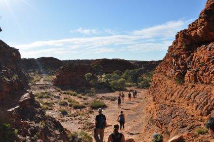 Walking Kings Canyon
