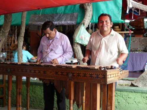 The marimba is a definate mexican favourite