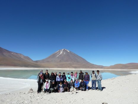 Bolivia, One last Lagoon Group Shot