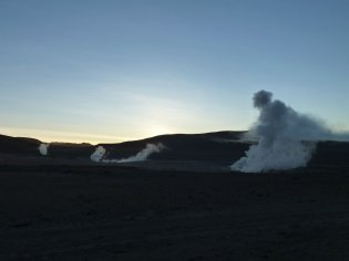 Bolivia, Volcanic activity, Steam vents