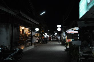 Night time in Saladan, Koh Lanta