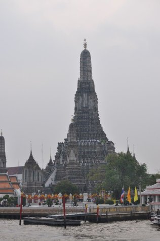 Over the river to Wat Arun