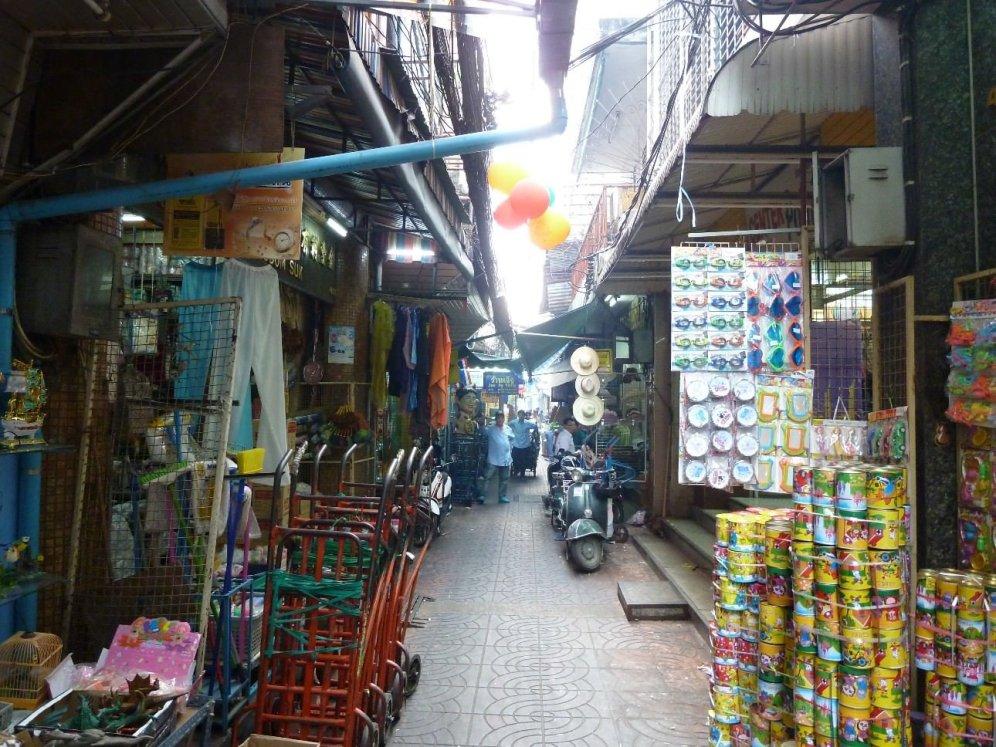 China town markets