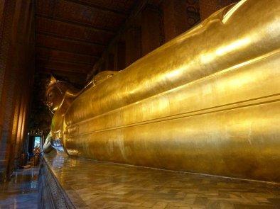 Giant reclining Buddha 50ft high 143ft long