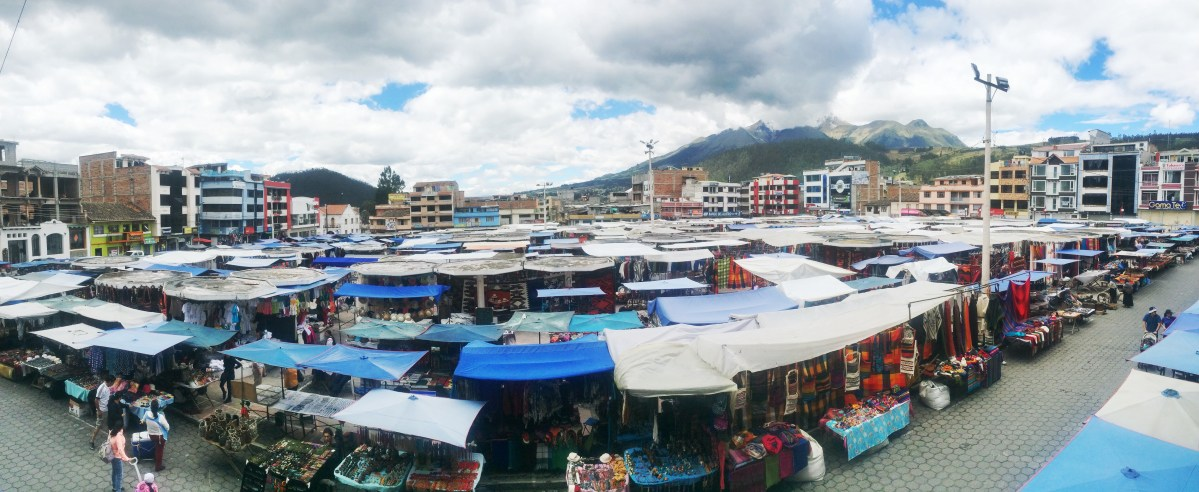 The Three Markets of Otavalo